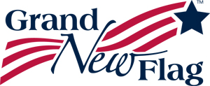 Grand New Flag Logo